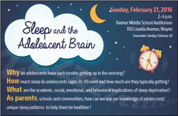 Sleep and the Adolescent Brain